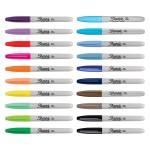 Комплект перманентни маркери Sharpie Big Pack Peacock, 28 цвята