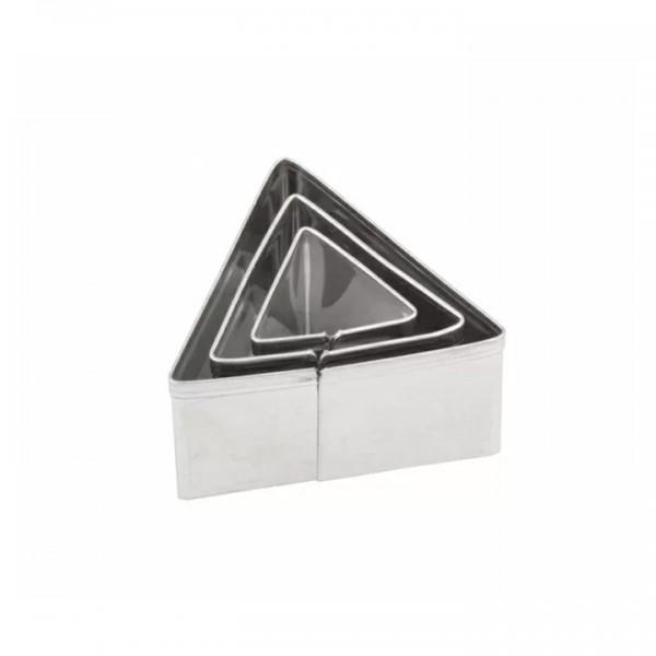 Комплект с 3 броя Метални Форми за Изрязване Makin's Триъгълници