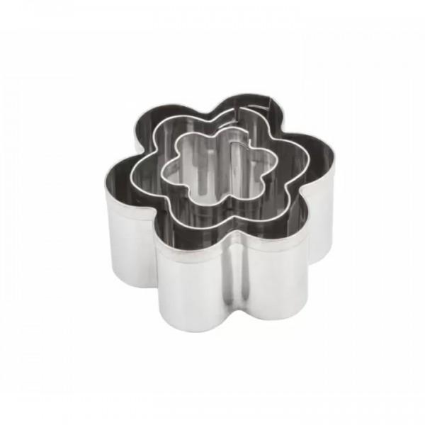 Комплект с 3 броя Метални Форми за Изрязване Makin's Цветя