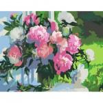 Комплект за Рисуване по Номера : Сложност II : Божури