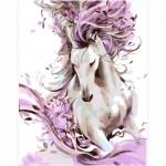 Комплект за Рисуване по Номера : Сложност II : Красив Кон