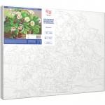 Комплект за Рисуване по Номера : Сложност II : Маргаритки и Горски Ягоди