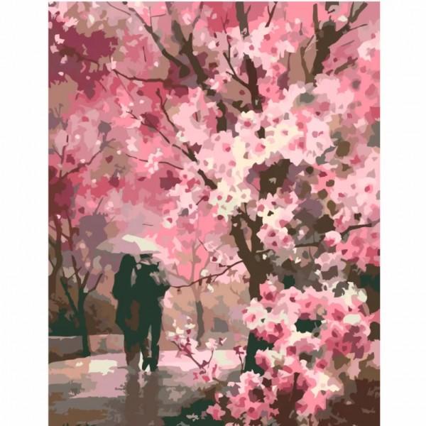 Комплект за Рисуване по Номера : Сложност III : Романтична Разходка