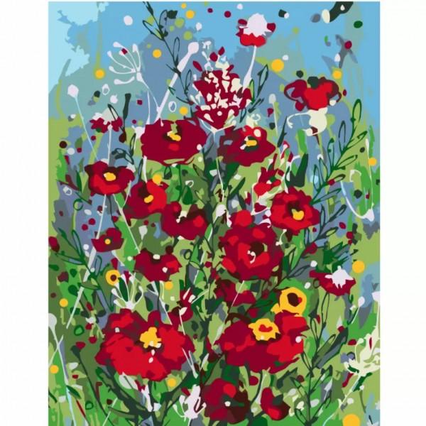 Комплект за Рисуване по Номера : Сложност III : Цветна Фантазия