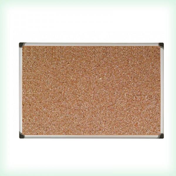 Коркова дъска с алуминиева рамка - 45х60см Optima