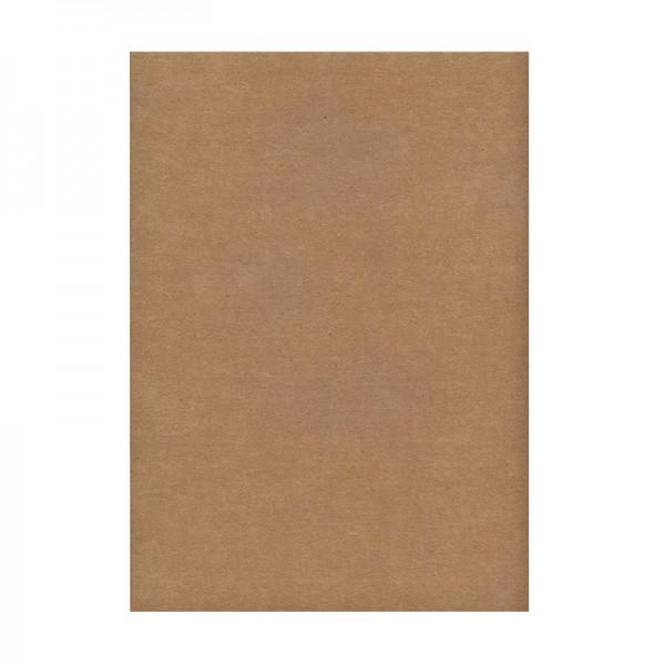 Слънчоглед картон Крафт 480 g А4, пакет 25 листа