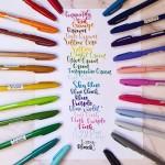 Маркер четка Pentel Brush Sign Pen