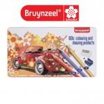Материали за Рисуване и Оцветяване : Bruynzeel : 60 Части : Super Sixties Beetle