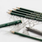 Молив Графитен Faber-Castell 9000