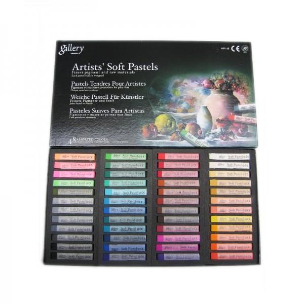GALLERY - Сухи пастели 48 цвята