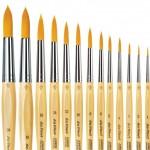 Обла четка за Рисуване Da Vinci 303 Junior Synthetics