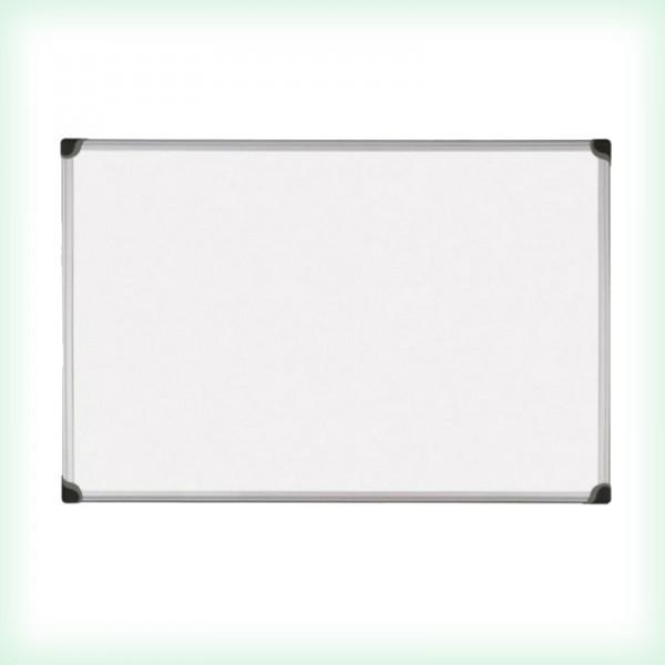 Бяла дъска с алуминиева рамка - 120x180см - магнитна Optima