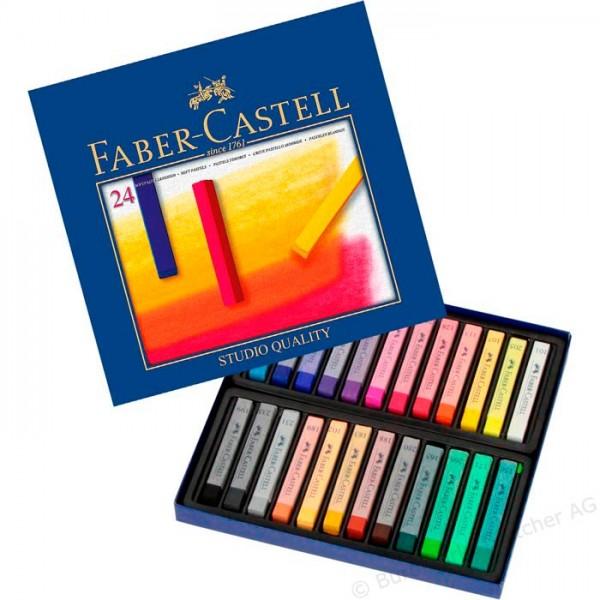 Сухи пастели Faber-Castell 24цв.