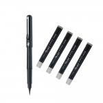 Pentel Brush Pen - Четка за калиграфия + 4 пълнителя черни