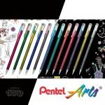 Гел химикалка Pentel Hybrid Dual Metallic