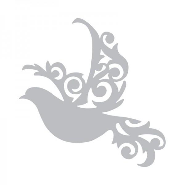 Шаблон за рязане и релеф Sizzix - Delicate Wings 660094