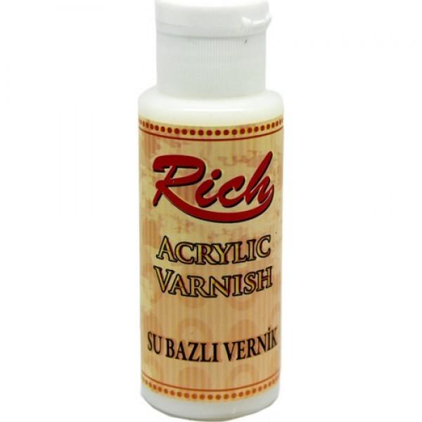 Акрилен лак безцветен - RICH Acrylic Varnish 120ml