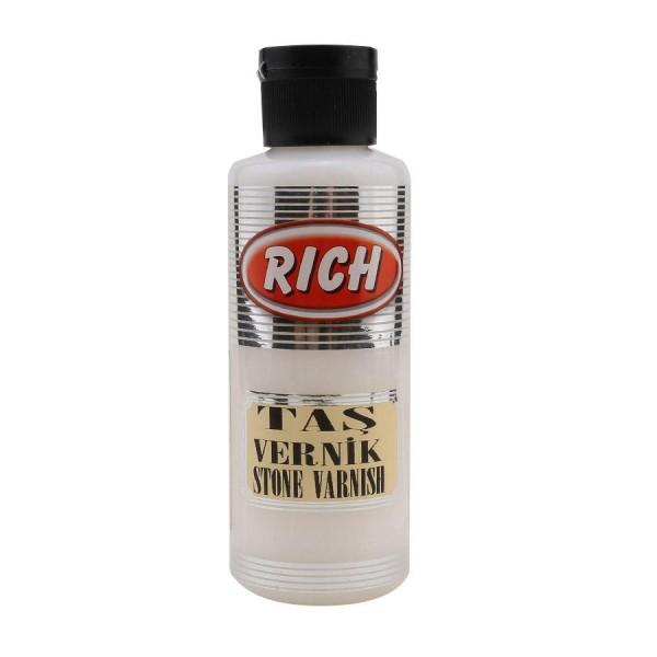 Rich Stone Varnish - Безцветен лак много устойчив 130 ml