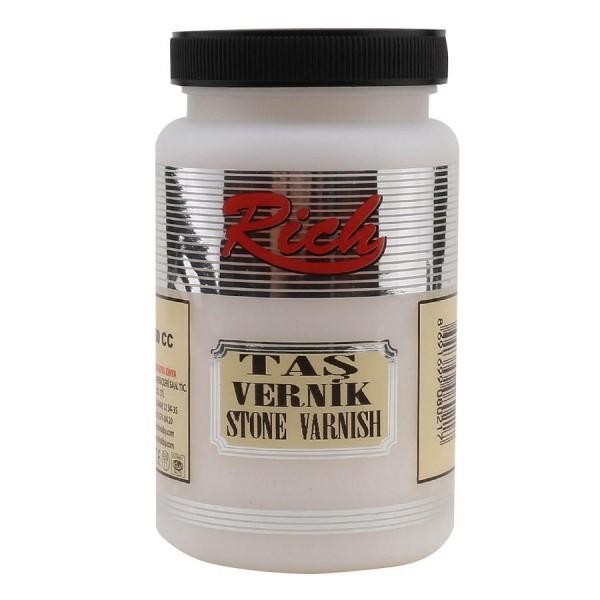 Rich Stone Varnish - Безцветен лак много устойчив 500 ml