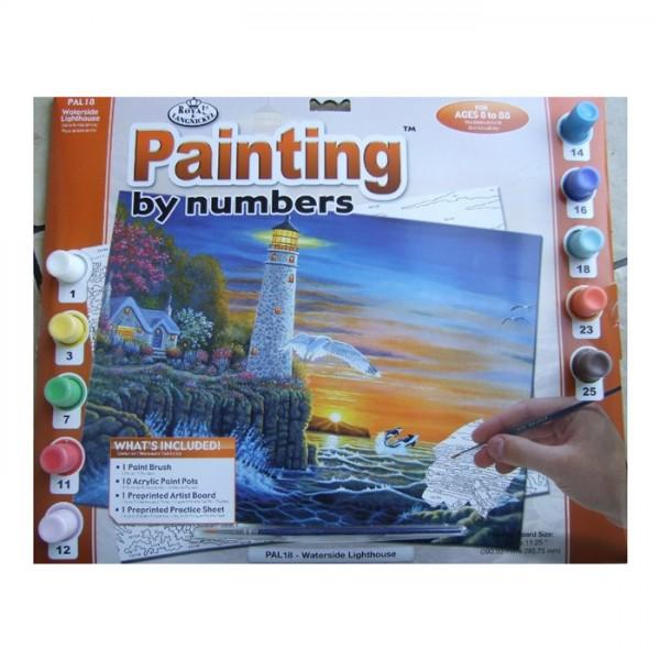 Рисуване по номера 30x40 см PAL18