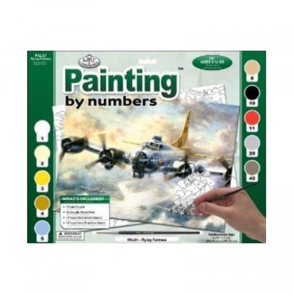 Рисуване по номера 30x40 см PAL21