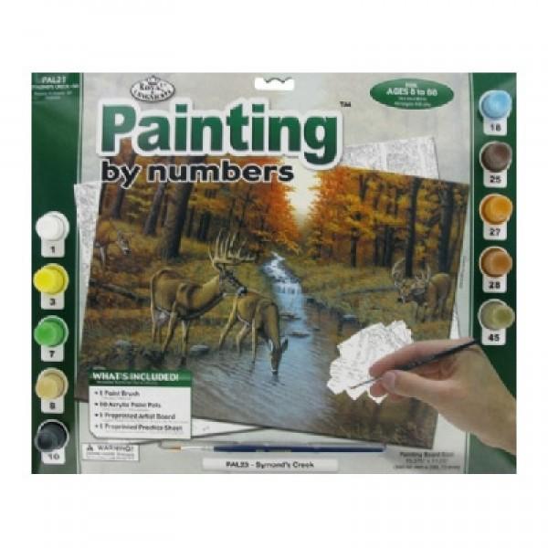 Рисуване по номера 30x40 см PAL23