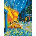 Rosa комплект за Рисуване - Акрилни Бои - Шедьоври - Кафе Тераса През Нощта - Ван Гог