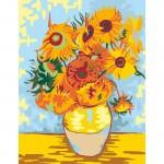 Rosa комплект за Рисуване по Номера - Акрилни Бои - Шедьоври - Слънчогледи - Ван Гог