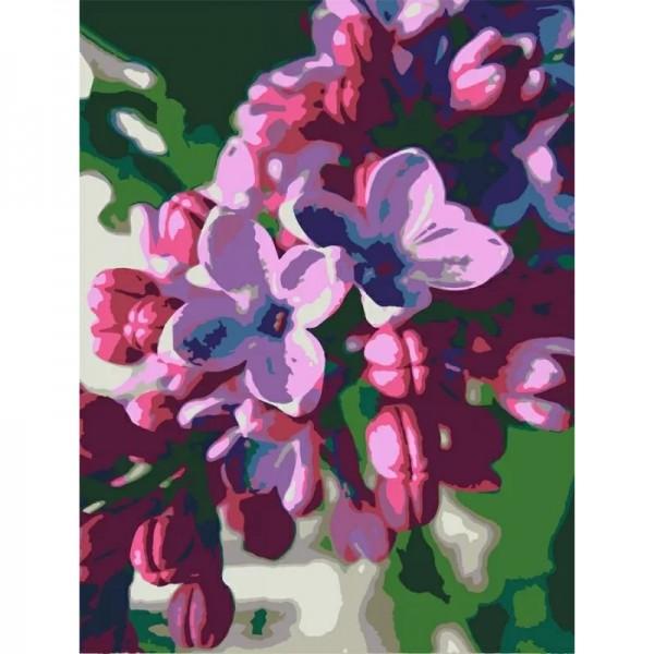 Rosa комплект за Рисуване по Номера - Акрилни Бои - Стандарт - Люляк