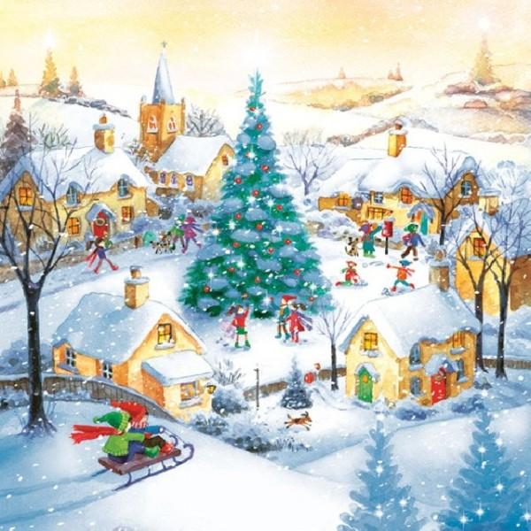 Салфетка Коледна - SLGW.15801
