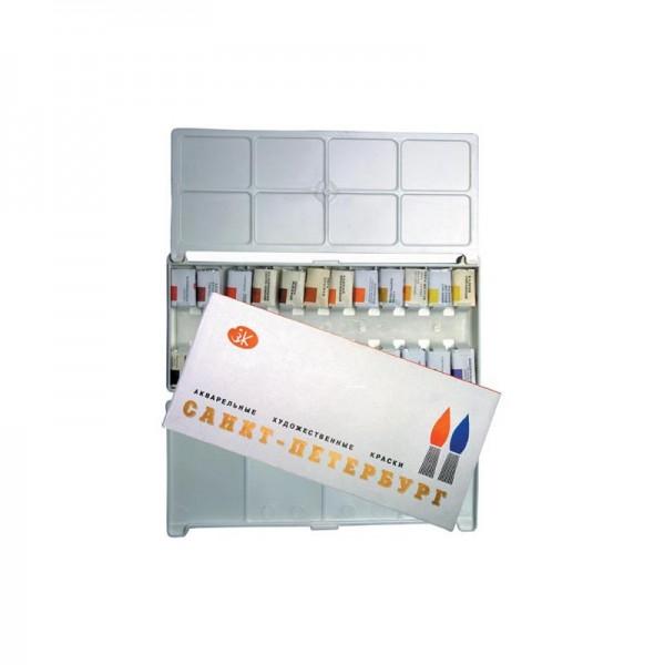 ЗХК акварел Санкт Петербург - 24 цвята PVC кутия