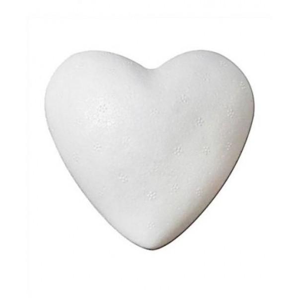 Сърце от Стиропор 6 cm 15 броя