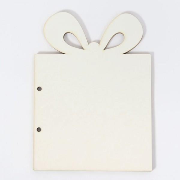 Заготовка за скрапбук албум - Подарък