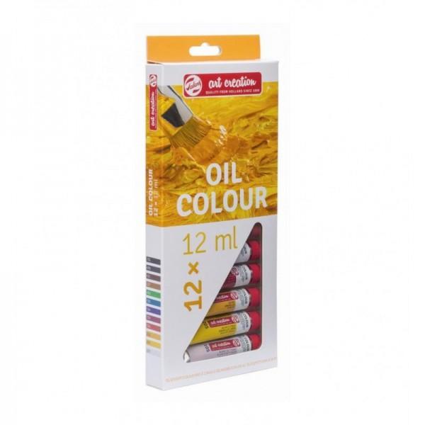 TALENS ART OIL 12 - Фини Маслени бои 12 цвята