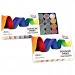 Темперни Бои Гваш в Бурканче : Rosa Studio : 24 цвята x 20 ml