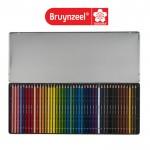 Цветни Моливи : Bruynzeel : за Подарък : 45 Цвята : Холандия