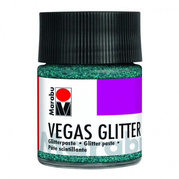 Брокатна релефна паста 50ml - Vegas Glitter Marabu